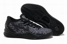 premium selection f24bc adae7 Buy New Arrival Nike Kobe 8 System Basketball Shoe Snake Black Gray from  Reliable New Arrival Nike Kobe 8 System Basketball Shoe Snake Black Gray  suppliers.