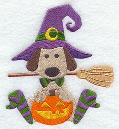 Fetch the Broomstick Embr Lib file called Halloween-21 files purch 9-23-15