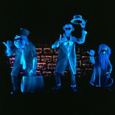 """Ghostly Getaway:   The Haunted Mansion                                                                                            A ghost host welcomes you to a place where """"strange and frightening sounds echo through the halls"""" and 999 Happy Haunts have been ready to welcome No. 1,000 since 1969. The Disneyland attraction gets a """"Nightmare Before Christmas"""" makeover every year, too"""