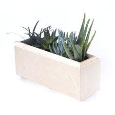 Window Planter Box in Raw Birch // Yield Design Co