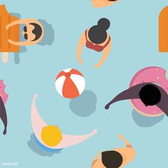 Free Summer Vector – Free image by rawpixel.com