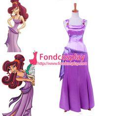 Free Shipping Disney Princess Megara-Hercules-Movies dress Tailor-made