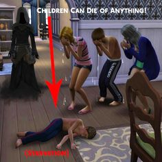 Simstopics Children Can Die of Anything by devilgurl at Mod The Sims • Sims 4 Updates