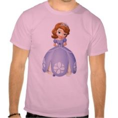 Sofia the First 1 Tees