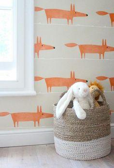 Niedliche Babyzimmer Wandgestaltung Inspirierende Wandgestaltung Ideen.  Kinder Tapete ...