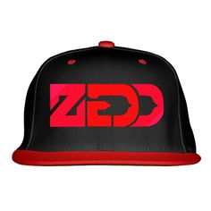 ZEDD Embroidered Snapback Hat