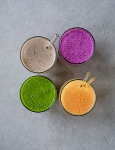 Start your day with 1 of our bright smoothie recipes for a healthy, refreshing pick-me-up. Our quick and easy smoothies serve 1 and have been triple-tested Apple Smoothies, Vegan Smoothies, Easy Smoothies, Strawberry Smoothie, Ninja Smoothie Recipes, Breakfast Smoothie Recipes, Vegetarian Breakfast Recipes, Homemade Irish Cream, Easy Brunch Recipes