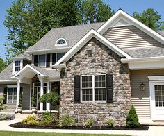 Stonecraft's manufactured stone veneer delivers supreme curb appeal, without the cost that comes with authentic stone. The veneer is made from a sustainable mix of ingredients that allow it to weather and age just like real stone. Its remarkable look and texture comes in nine styles and a broad array of colors.