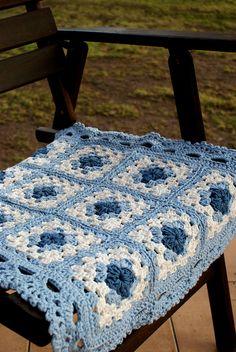 Crochet Blanket/ cotton   Flickr: Intercambio de fotos