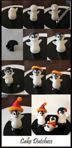 Lovely Penguin Topper, love these they look just like Chloe's Huggles