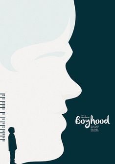 Boyhood (2014) ~ Minimal Movie Poster by Matt Needle ~ Oscar Bait 2015 Series #amusementphile