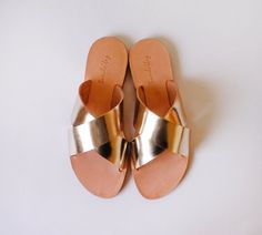 Sandals - Handmade Greek Style strap Sandals made from Genuine Leather in Variety of colors.