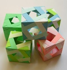 064 箱にするぅ~?:ユニット折り紙大好き★Unit fun もっと見る