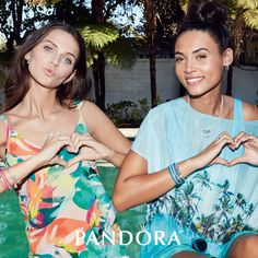 Double Trouble in Love #PANDORA June Sale going on now, savings up to 50% off!!
