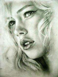Foto: This is a gorgeous pencil drawing.