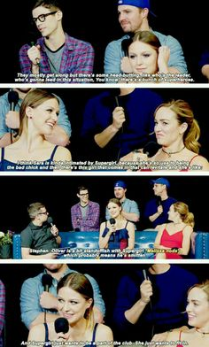Arrow, Supergirl, and The Flash