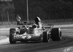 #6 Jackie Stewart (GB) - Tyrrell 005 (Ford Cosworth V8) 3 (4) Elf Team Tyrrell