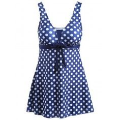 SHARE & Get it FREE | Stylish Plus Size Women's Bowknot Embellished Polka Dot One-Piece SwimsuitFor Fashion Lovers only:80,000+ Items·FREE SHIPPING Join Dresslily: Get YOUR $50 NOW!