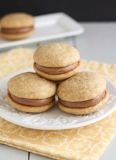 Banana Bread Nutella Whoopie Pies by Tracey's Culinary Adventures, via Flickr