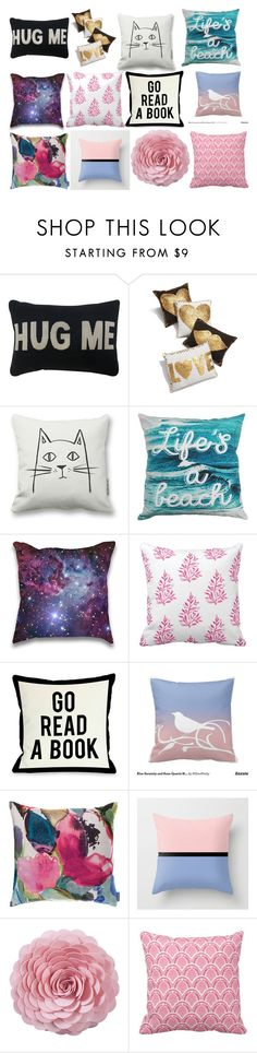 """""""Pillows #5"""" by bella1138 on Polyvore featuring interior, interiors, interior design, home, home decor, interior decorating, Park B. Smith, Jonathan Adler, One Bella Casa and Bluebellgray"""