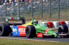 Alessandro Nannini Benetton - Ford 1989