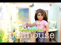 Fabulous Craft Review: Rainforest Dollhouse - Doll Crafts - YouTube