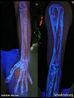 black light tattoo