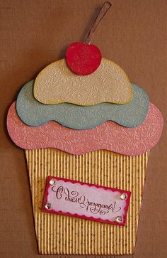 diy birthday card ideas | Birthday cake-card - Handmade Cards 2012 -2013 | Handmade Cards 2012 ...
