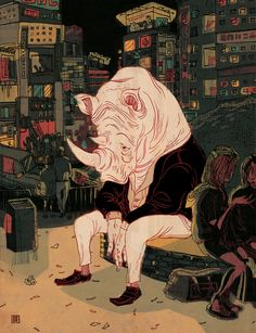 Victo Ngai Brings Life to her Childhood Memories with these Fantastic Illustrations