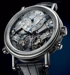 d04247836e5 Breguet has fitted its new Tradition Chronographe Indépendant 7077 model  with two independent trains. This piece is truly innovative and bears the  trademark ...