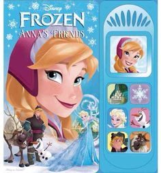 Frozen soundboard book