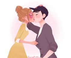 Disney Films, Disney And Dreamworks, Disney Fan Art, Disney Love, Disney Couples, Cute Couples, Gogo Tomago, Hiro Big Hero 6, Naruto Run