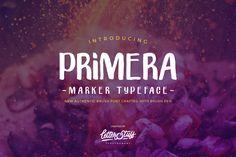 """""""PRIMERA FREE TYPEFACE""""  https://www.behance.net/gallery/62759229/PRIMERA-FREE-TYPEFACE"""