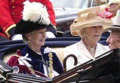 Princess Alexandra, Lady Ogilvy and Katharine, Duchess of Kent