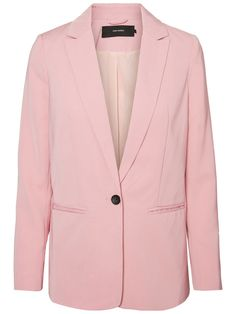 Pretty and sophisticated pastel pink blazer