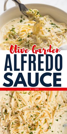 Olive Garden Alfredo Sauce, this recipe has rave reviews! An easy to make creamy cheese sauce made with With parmesan cheese, butter and cream for the best keto and low carb sauce ever! gluten free recipe. www.noshtastic.com