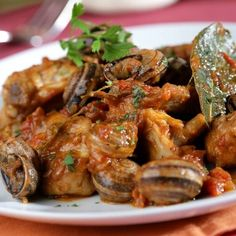 Spanish Cuisine, Spanish Food, Chicken Wings, Shrimp, Seafood, Dishes, Meat, Dining, Primers