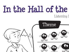 "Learn Me Music: ""In the Hall Of the Mountain King"" Listening Activities 