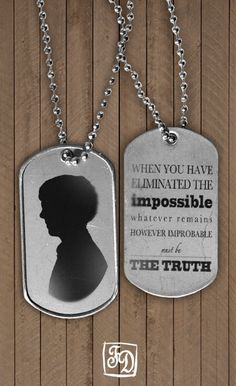 sherlock quote | whatever remains