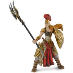 "Athena - Goddess of War (4.5"" Poseable Figure)"