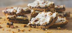 This quick and easy dessert is a dairy-free version of the traditional magic cookie bar you remember, with the soft graham cracker crust, rich chocolate layer and crunchy coconut drizzled with our own recipe for Dairy-free Sweetened condensed Milk.