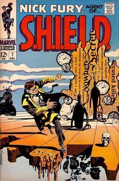 Nick Fury, Agent of SHIELD #4 - Origin of S.H.I.E.L.D. (Issue)