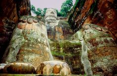 Big Buddhas Mount Rushmore, Mountains, Nature, Painting, Travel, Naturaleza, Voyage, Trips, Painting Art