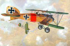 1917 03-27 Albatros DIII Jasta 11 Lothar von Richthofen - Taras Shtyk - box art Roden