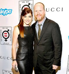 Alyson Hannigan Sexy Leather Dress, Joss Whedon Reunion: Picture - Us Weekly