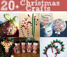 20+ fun & easy Christmas crafts & DIY projects (including great gift ideas!)