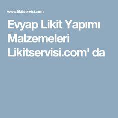 Evyap Likit Yapımı Malzemeleri Likitservisi.com' da
