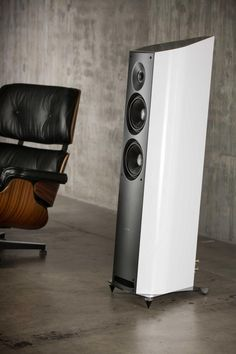 Sonus faber Venere and Eames Lounge Chair.