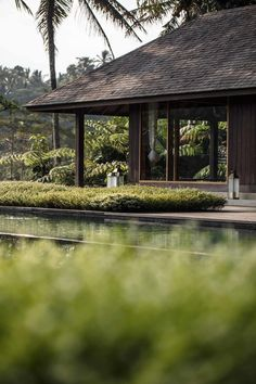 An Ubud home by architect Maximilian Jencquel is one step up from spectacular, full of jungle views and artisanal interiors Modern Tropical House, Tropical House Design, Tropical Houses, Ubud, Thai House, House Without Walls, Bungalow, Bali Style Home, Tropical Architecture