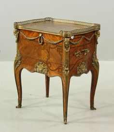 9055 - After Oeben, Ormolu Mounted Parquetry Desk January Estate Auction | Official Kaminski Auctions